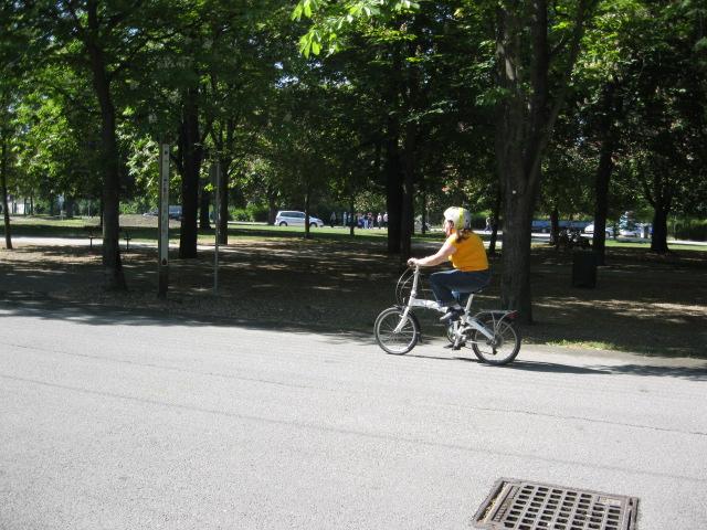 Fahrrad lernen im Frauentreff